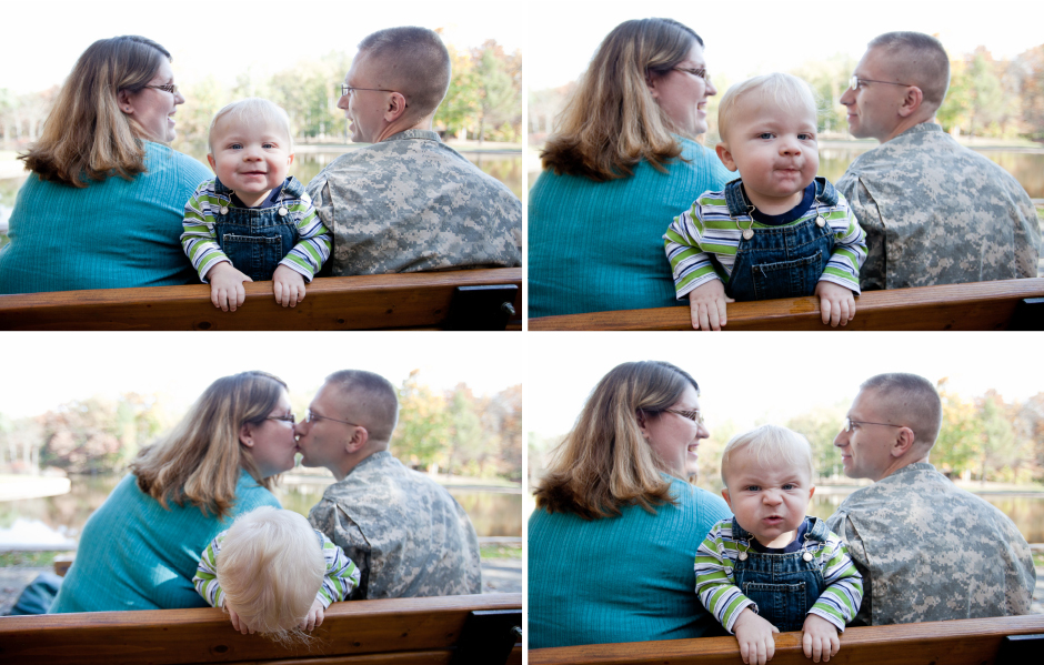 Morgan Cecilia Jefferson Family Portrait Dallas Love Photography - 10 portrait photos of people before after the photographer kissed them